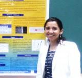Alumna de doctorado, Natalia Pérez, presentó trabajo en conferencia internacional en Canadá