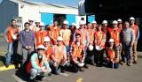 Alumnos de Ingeniería Civil Química realizan visita industrial
