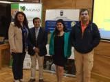 Srta Paula Belen Castro Palma, Estudiante de la Carrera Ingeniería Civil en Industrias de la Madera, defendió su Informe de Habilitación Profesional