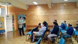 Decano de la Facultad de Ingeniería, Sr. Peter Backhouse E., realiza charla en DIMAD