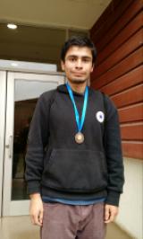 Rodrigo Regla, logró Tercer lugar en la Gran Carrera 69 Aniversario de la Universidad del Bío-Bío