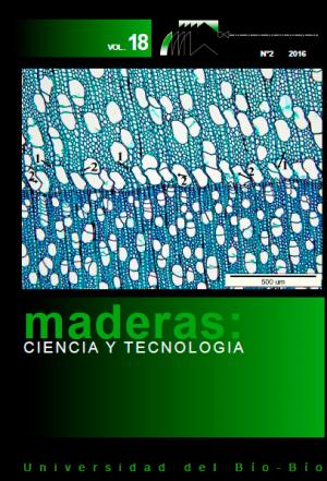 Revista MADERAS: Ciencia y Tecnología
